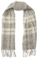 Polo Ralph Lauren Plaid Brushed Mohair Scarf