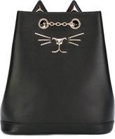 Charlotte Olympia Feline backpack - women - Calf Leather - One Size