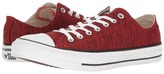 Converse Chuck Taylor All Star Heathered Knit Ox Classic Shoes