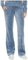 Juicy Couture Del Rey Velour Pants Women's Casual Pants