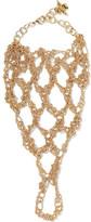 Rosantica Silvia Gold-tone Glove - One size