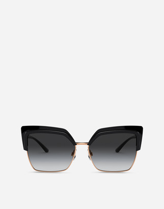 Dolce & Gabbana Double Line Sunglasses