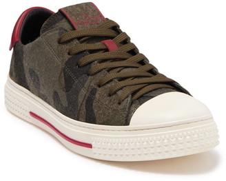 Valentino Cap Toe Camo Sneaker