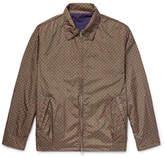 Beams Reversible Cotton and Printed Nylon Blouson Jacket