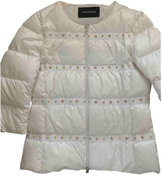 Flavio Castellani White Jacket for Women