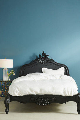 Anthropologie Menara Bed By in Grey Size QN TOP/BED
