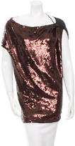 Robert Rodriguez Sequined Bateau Neck Tunic