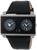 01 The One 01TheOne Unisex AN05BK01S1 AN05 Dual Time Watch