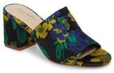 Seychelles Women's Commute Floral Flared Heel Sandal