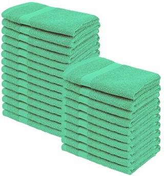 Superior 100-Percent Cotton Eco-Friendly 24-Piece Towel Set - Ivory