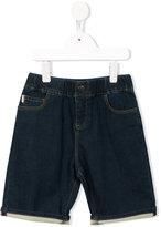 Paul Smith denim shorts - kids - Cotton/Polyester/Spandex/Elastane - 4 yrs