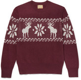 Levi's Vintage Clothing - Intarsia Wool-blend Sweater
