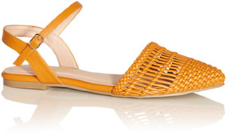 City Chic Rosalie Flat - honey