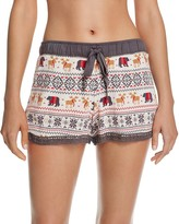 PJ Salvage Mountains Calling Pajama Shorts