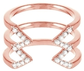 RACHEL KATZ Stacked Dagger Diamond Ring