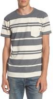 Quiksilver Men's Lokea Stripe Pocket T-Shirt