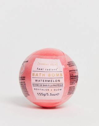 Sunday Rain Bath Bomb Watermelon-No Color