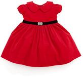 Ralph Lauren Corduroy Party Dress, Red, 3-9 Months