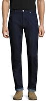 Z Zegna Cotton Five-Pocket Straight Leg Jeans