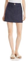 Tory Burch Elise Denim Mini Skirt