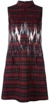 Giamba checked dress