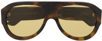 Gucci GG0668S aviator-frame sunglasses