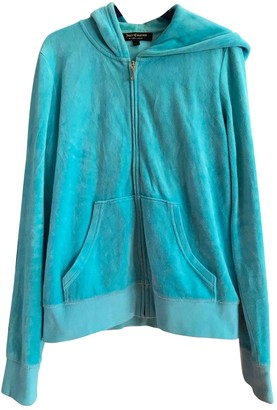 Juicy Couture Turquoise Cotton Jacket for Women