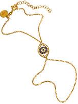 Blee Inara Crystal and Gold Evil Eye Harem Bracelet