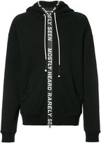 Mostly Heard Rarely Seen zipped hoodie - men - Cotton - XS