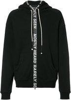 Mostly Heard Rarely Seen zipped hoodie - men - Cotton - XXS