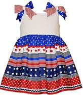 Bonnie Jean Toddler Girl 4th of July Patriotic Dress (-4t)