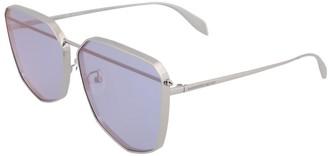 Alexander McQueen Unisex Am0136s 61Mm Sunglasses