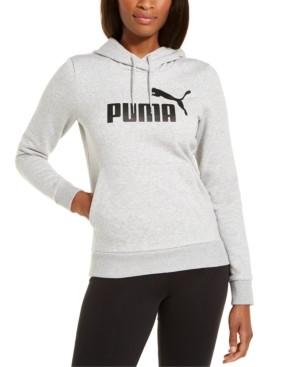 Puma Women's Logo Fleece Hoodie
