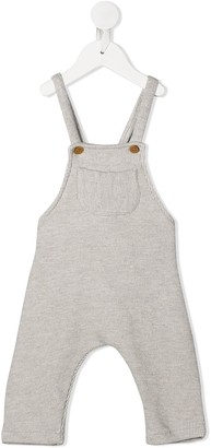Zhoe & Tobiah Striped Pattern Dungarees