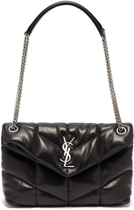 Saint Laurent 'LouLou Small' puffer quilted leather bag