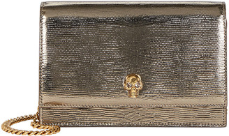 Alexander McQueen Small Skull Leather Bag