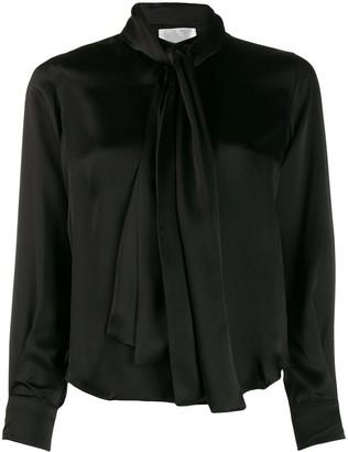 Comme des Garcons Pussybow Collar Silk Shirt
