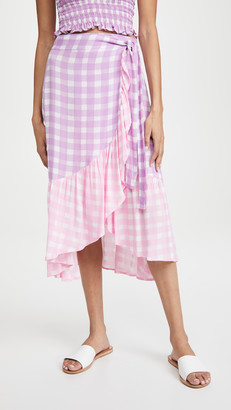 Cool Change Gingham Cecilia Skirt
