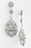 Nina Women's 'Eiffel' Statement Drop Earrings