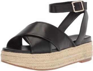 Nine West Women's SHOWRUNNER Leather Sandal