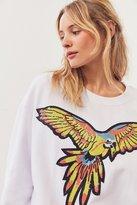 Silence & Noise Silence + Noise Sequin Parrot Sweatshirt