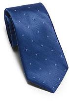 Michael Kors Patterned Woven-Silk Tie