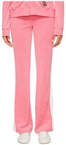 Juicy Couture Venice Beach Patches Microterry Del Rey Pants Women's Casual Pants