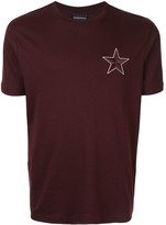 Emporio Armani embroidered star T-shirt