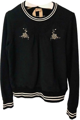 N°21 N21 Black Cotton Knitwear for Women