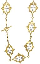 Cathy Waterman Scimitar Diamond Thorn Necklace