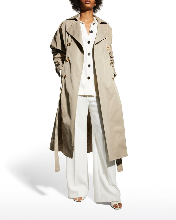Thumbnail for your product : Ambush Double-Breasted Long Coat
