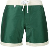 Cuisse De Grenouille - Atlantique swim shorts - men - Cotton/Polyamide/Polyester - S