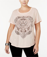 Style&Co. Style & Co. Plus Size Elephant Graphic Top, Only at Macy's