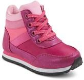 Cat & Jack Toddler Girls' Sasha High Top Jogger Sneakers Cat & Jack - Pink